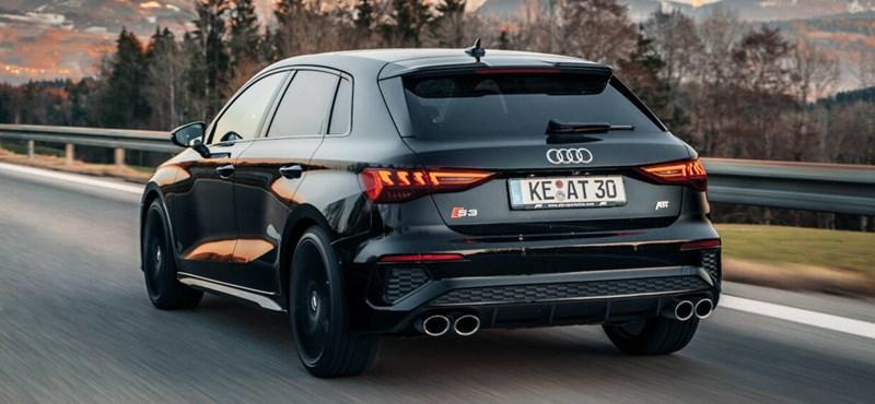 Tömény izomgolyó a frissített Abt Audi S3