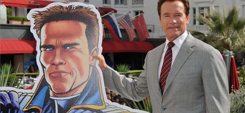 Képregény és rajzfilm készül Schwarzeneggerről - fotók