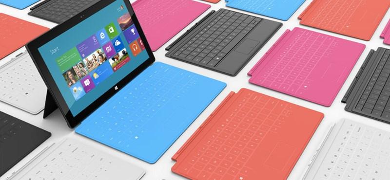 Nem fogy a Microsoft Surface táblagép