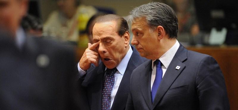 Berlusconi meggyőzné Orbánt, maradjon a Néppártban