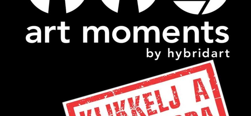 Street-art rendezvénnyel nyílik az Art Moments 3 képzőművészeti programsorozat