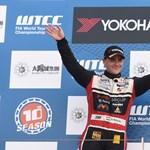 Michelisz Norbit választották az év legjobb hazai autóversenyzőjének