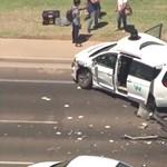 Újabb önvezető autó balesetezett, de ezt most nem lehetett kivédeni – videó