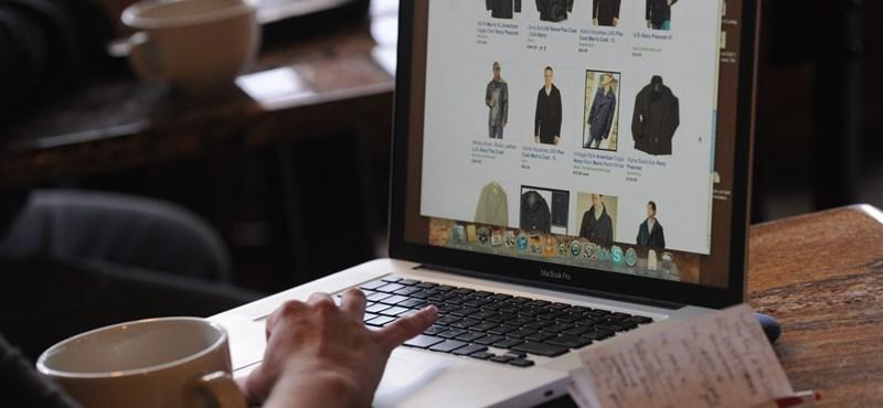 22 milliószor vásároltunk online