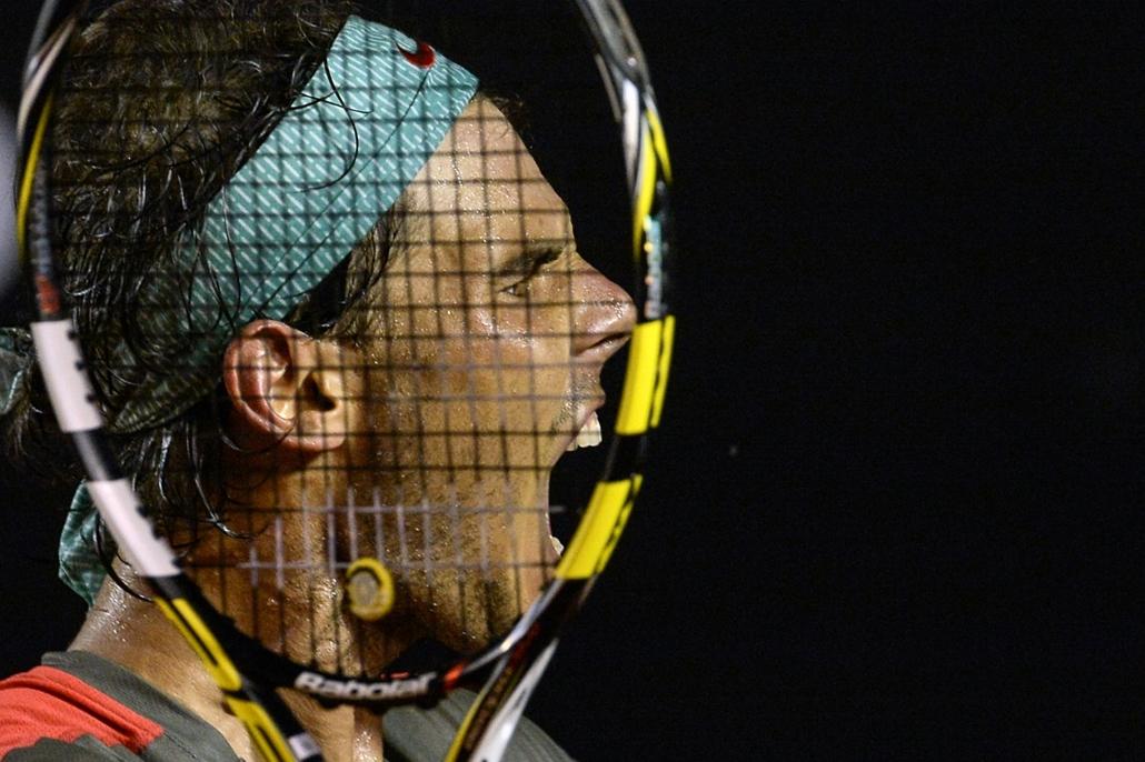 afp.14.02.22. - Rio de Janeiro, Brazília: Rafael Nadal öröme a férfi egyéni elődöntő győzelme után  - a hét képei