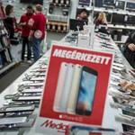 Bekebelezi a Media Markt a Tesco egyik lábát