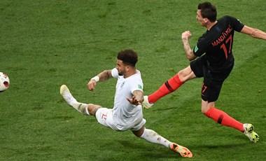 A szív diadala: Horvátország jutott a vb döntőjébe, és játszhat Franciaországgal