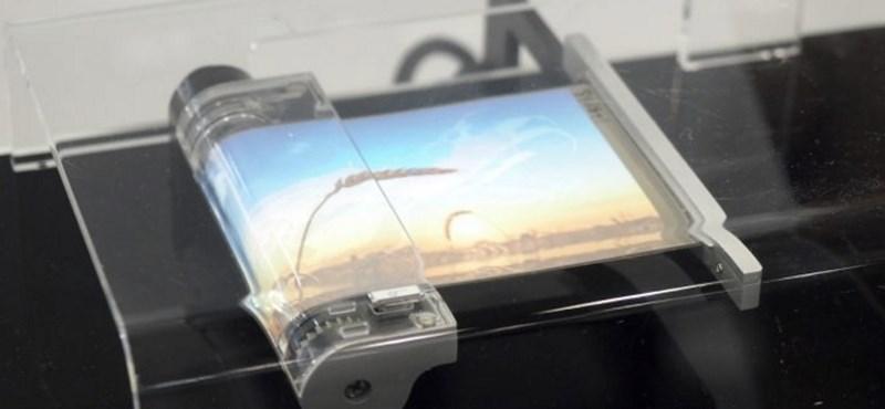 Nézze, ahogy feltekerik: ilyen lesz a Samsung Galaxy X kijelzője – videó