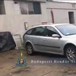 Több mint egy kiló kokaint találtak a rendőrök egy csepeli műhelyben – videó
