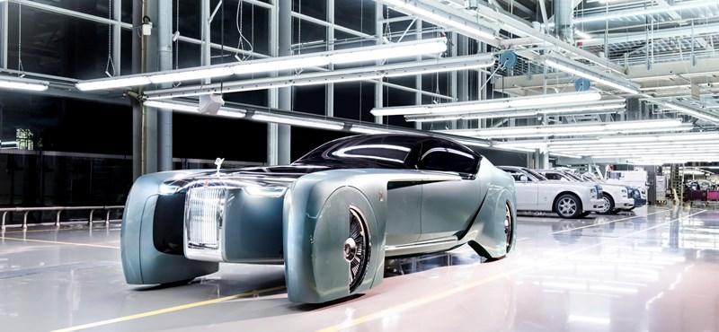 Döbbenetes autót mutatott be a Rolls-Royce