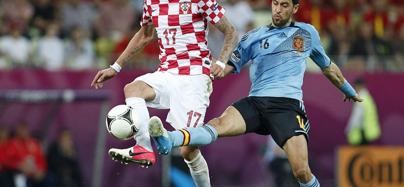 Egyetlen gól döntött a horvát-spanyolon - videó