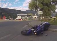 Halálos motorbaleset történt Szentbalázsnál