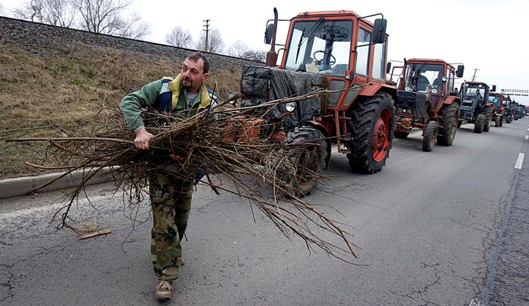 Sztrájkok,tüntetések az elmúlt években- Gazdatüntetés Tiszafüred 2009