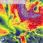 Így ér Magyarországra a szupervihar szele - térképek