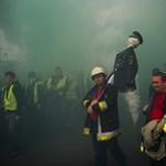A tűzoltók köszönetet mondtak Cser-Palkovicsnak