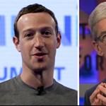 Annyira megharagudott Mark Zuckerberg Tim Cookra, hogy ártani akart az Apple-nek