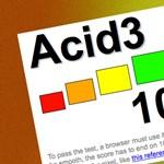 Megújul az ACID teszt
