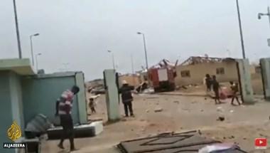 Berobbant egy lőszerraktár Egyenlítői-Guineában, csaknem 100-an meghaltak