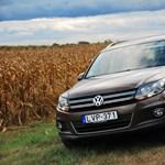 VW Tiguan teszt: komfort terepjáró