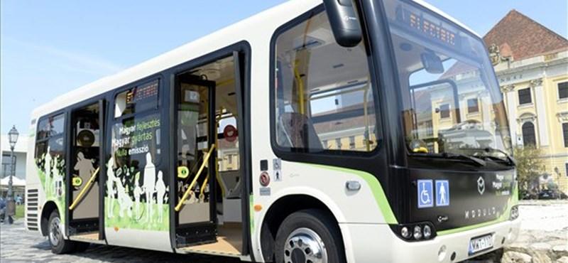 Moszkvában gyártják a magyar elektromos buszokat
