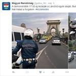 Twitteren is nyomul a Magyar Rendőrség