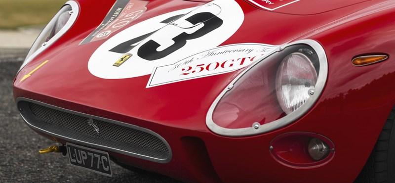 Új rekord: 13,6 milliárd forintot adtak ezért a Ferrariért