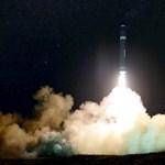 Ezer kilométer hatótávolságú rakétát fejlesztett ki Irán