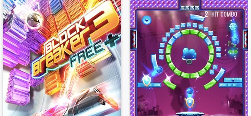 Letölthető a Block Breaker 3 ingyenes változata iOS-re [videó]