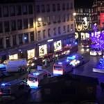 Terrortámadás a strasbourgi karácsonyi vásárban: három halott, az elkövető még mindig szökésben