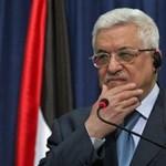 Összeesett a palesztin elnök, kórházba vitték