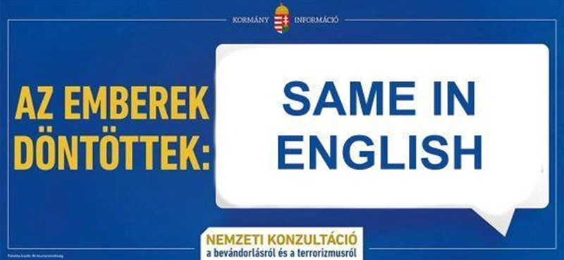A Same in English jegyében tájékoztat idegen nyelven a MÁV - fotó