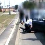 Vallomást tett az ámokfutó, szándékosan gázolta el a rendőrt