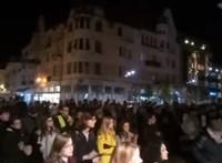 Szegeden is tüntettek a felsőoktatás tönkretétele ellen