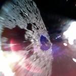 Bámulatos fotókat küldött haza az űrszonda, amelyik leszállt egy aszteroidára