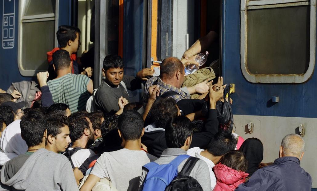 afp.15.09.03. menekült, migráns, keleti
