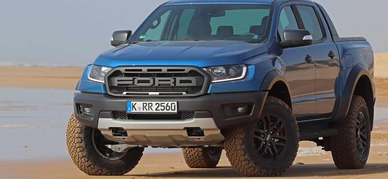Bizonyíték, nem ígéret: erőből, sivatagban nyúztuk a Ford Ranger Raptort