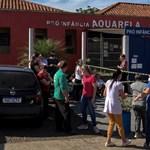 Halálra késelt egy támadó három gyereket és két alkalmazottat egy brazil óvodában
