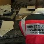 Videó: Egyszerre csapott le a NAV három adócsaló bűnbandára