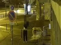 Elvesztette a tolvaj a polgármesteri hivatalról ellopott magyar zászlót, visszament az EU-sért – videó