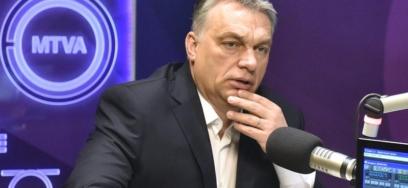 Orbán: A keresztény Európa kérdése politikai kérdéssé vált