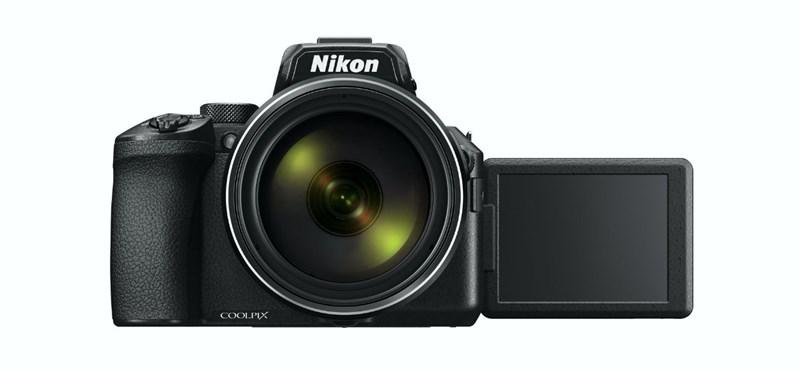 83x-os zoom lett, maradhat? Megjött a Nikon legújabb fényképezőgépe, a Coolpix P950