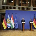 Orbán: Nem Merkel ellen ültünk össze a bajor miniszterelnökkel