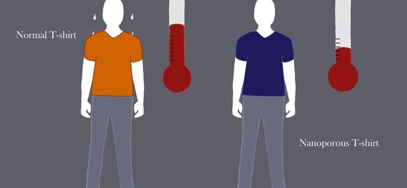 Megcsinálták a hűtőruhát, ez lehet a légkondi utódja – videó