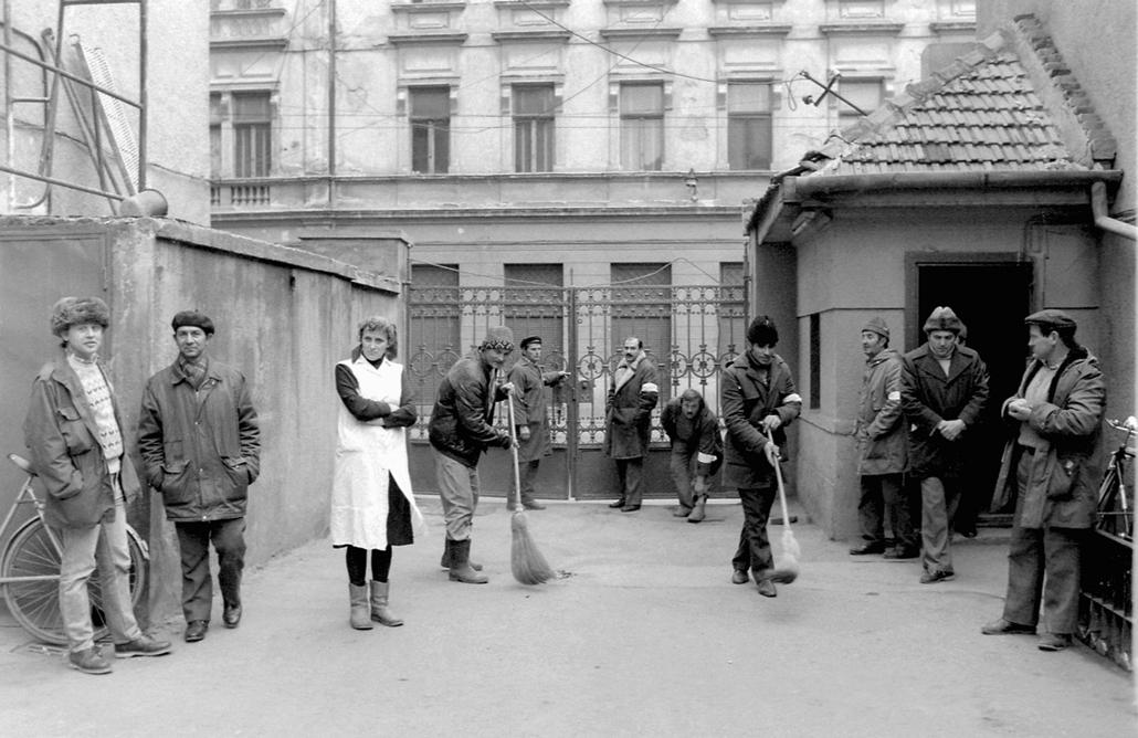 fortepan. Temesvár 1989, román forradalom - Munka