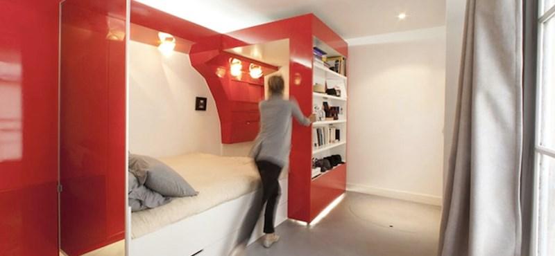 Kompakt hálószoba