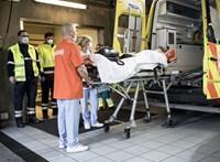 Belgiumban és Hollandiában is száznál többen haltak meg egy nap alatt