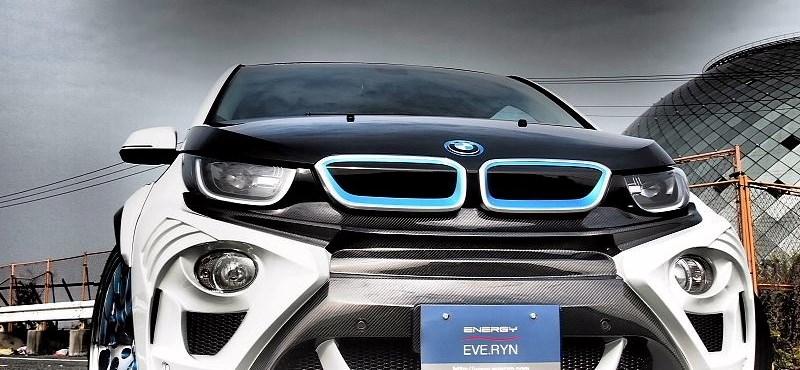 Nem kellett sokat várni az első tuningolt BMW i3-ra