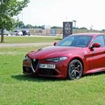 Nagyopera három felvonásban - Alfa Romeo Giulia-menetpróba