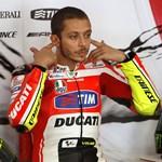 Rossi összezuhant, de nem hagyja abba a motorozást