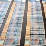 Rengeteg hamis pénzt foglaltak le Hódmezővásárhelyen